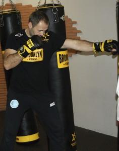 Ales, en Fitboxing Bilbao