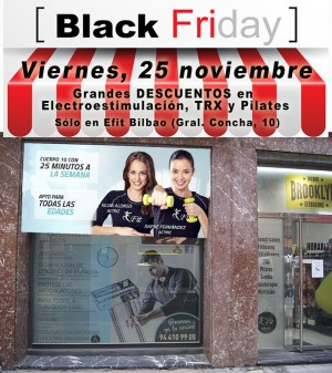 Black Friday en Efit Bilbao