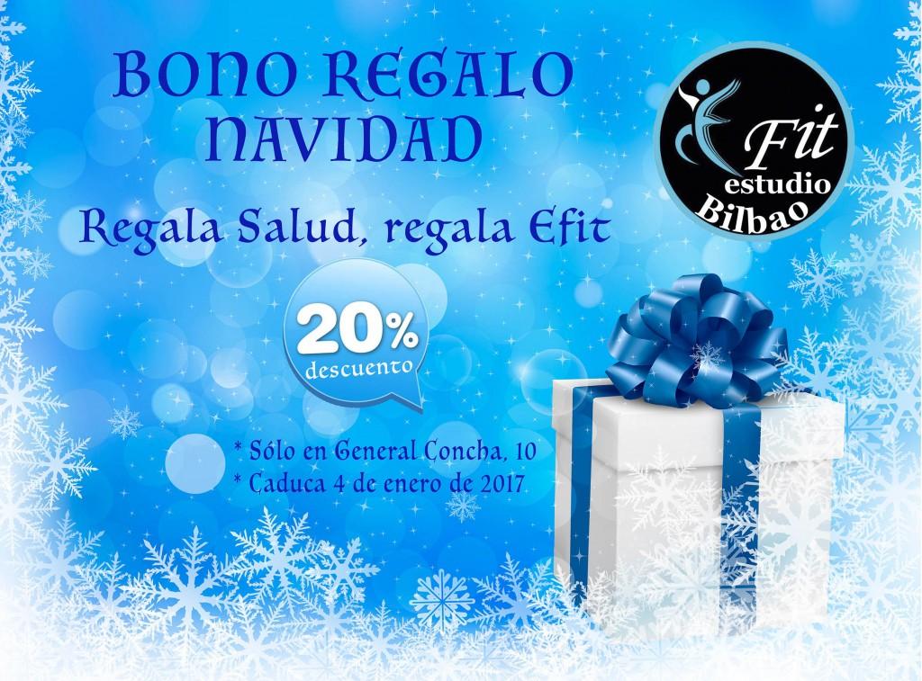 Bono regalo Navidad - Efit Bilbao